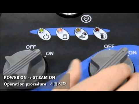 OPTIMA STEAMER INSTRUCTION (Steam Cleaner)