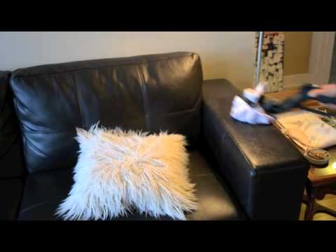 Steam Cleaning Furniture and Upholstery using a Dupray Steam Cleaner