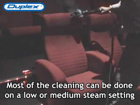 Cinema Steam Cleaning – Cleaning Chair using Duplex Steam Cleaner