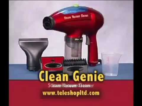 Clean Genie Mini Steam Vacuum Cleaner