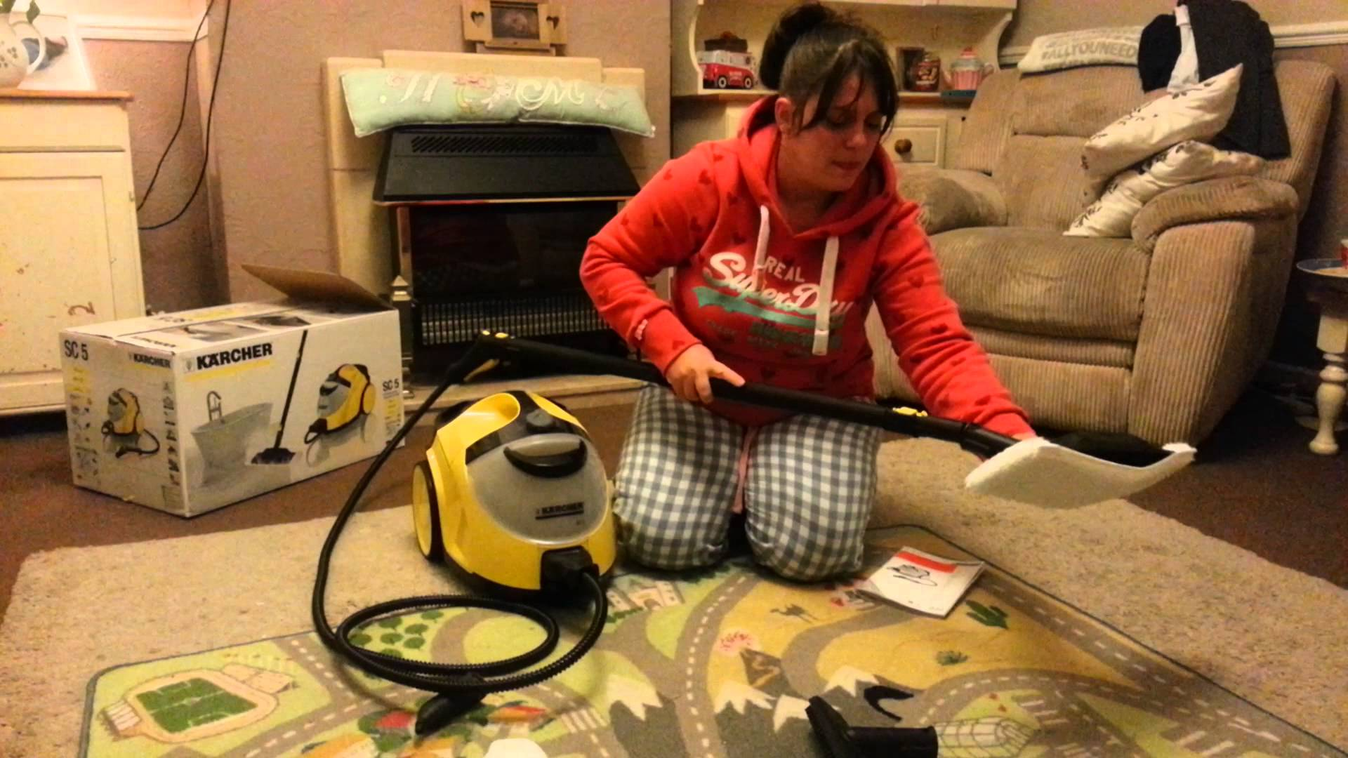 Karcher SC5 steam cleaner!