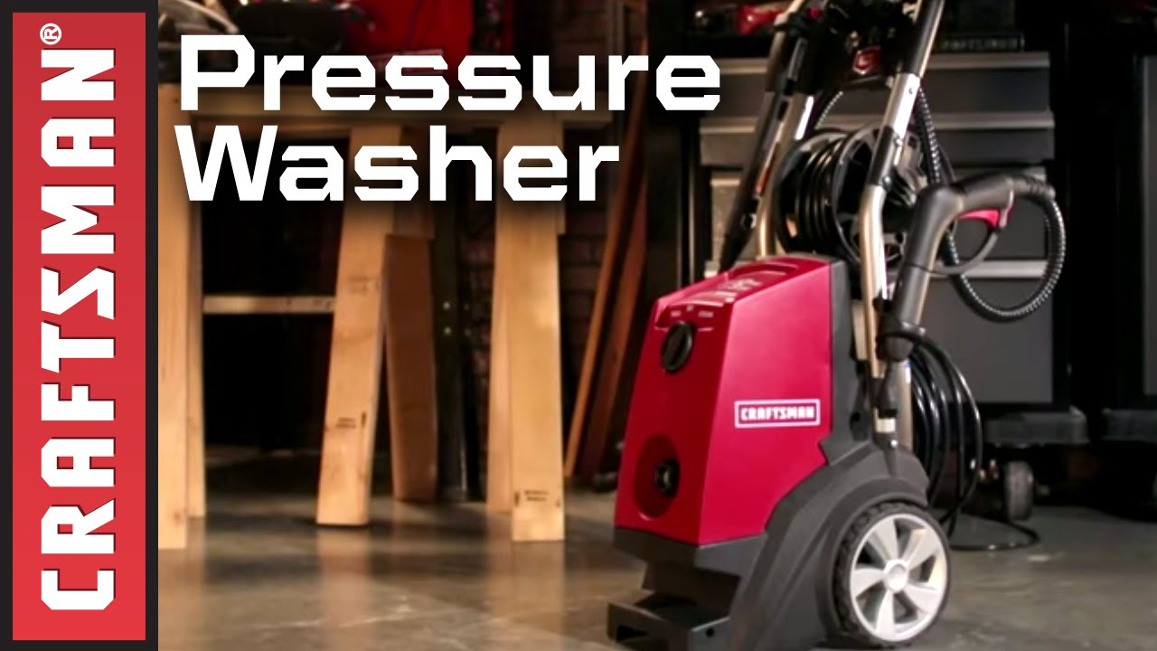 Craftsman Electric Pressure Washer with Steam Cleaner