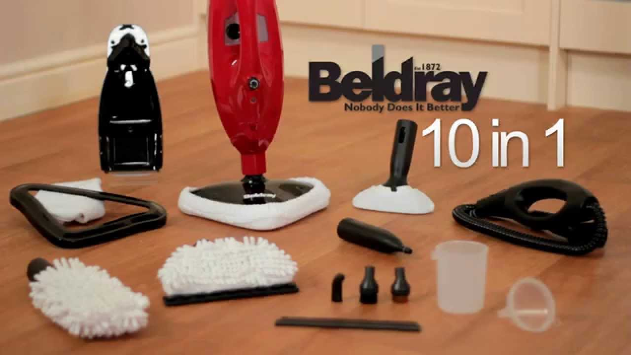 Beldray 10 in 1 Multi-function Steam Cleaner