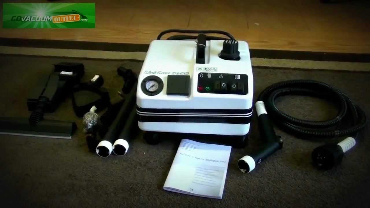 Vapor Clean Unilux 3000 Professional Commercial Vapor Steam Cleaner Review Unboxing