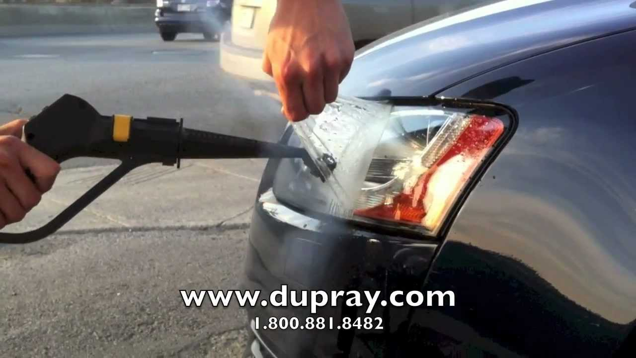 Steam Cleaner Vinyl Decal Removal – Dupray Steam Cleaners