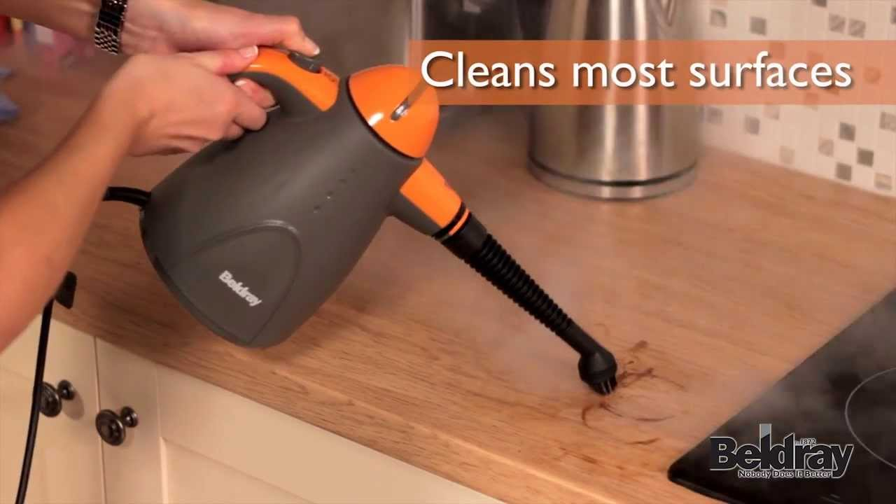 Beldray Hand Held Steam Cleaner