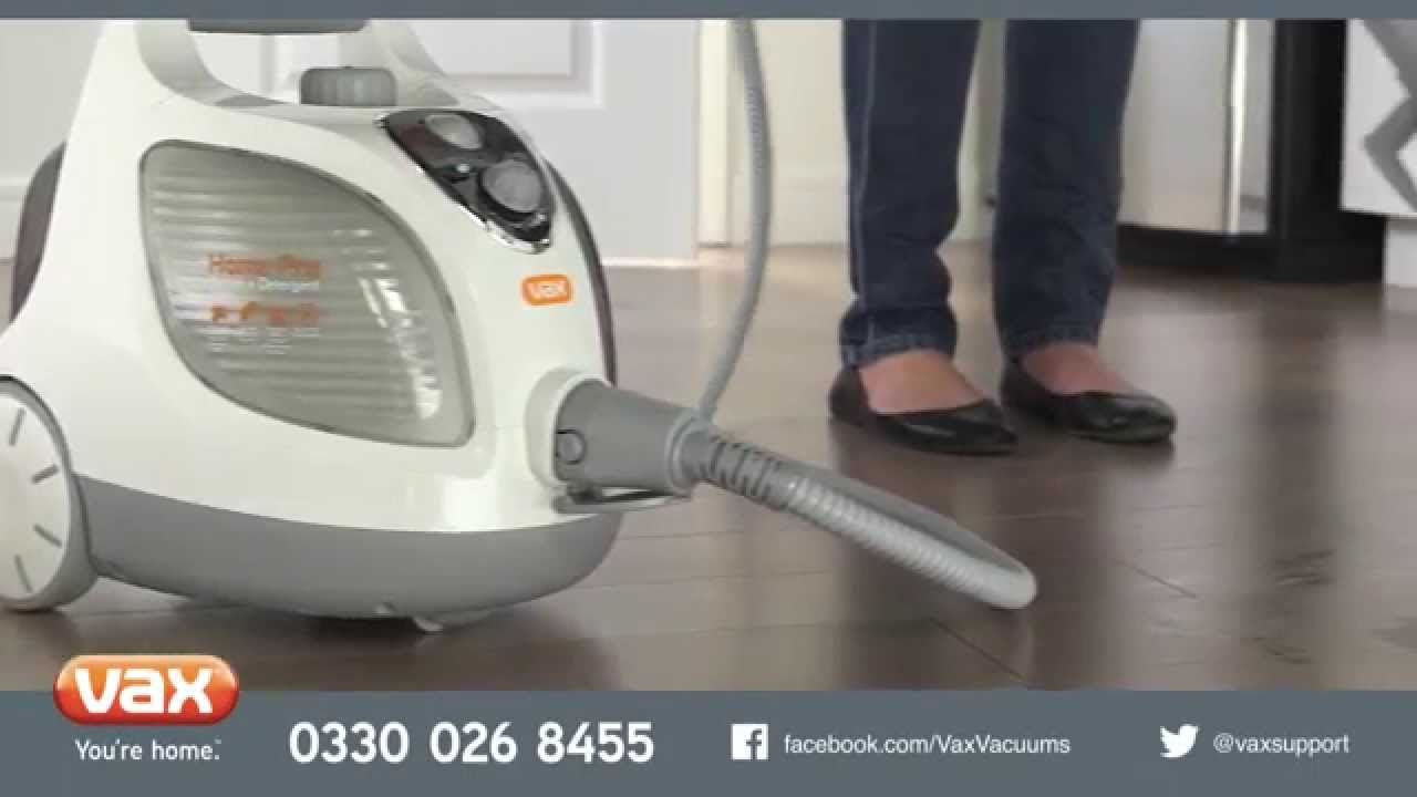 Introducing…Vax Home Pro Compact Steam Cleaner