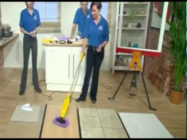 Wolf 1200w 2 in 1 Super Heated Steam Cleaner from UKHS.tv