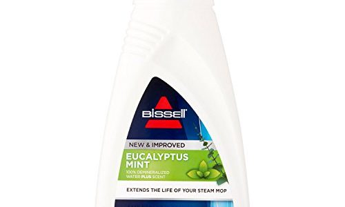 BISSELL EUCALYPTUS MINT DEMINERALIZED STEAM MOP WATER, 32 ounces, 1392