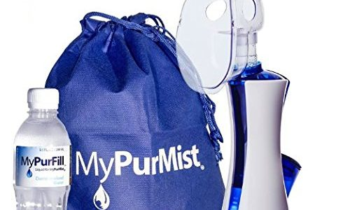 MyPurMist Handheld Personal Steam Inhaler and Vaporizer — Classic Kit