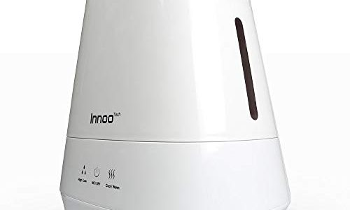 4.2L Warm & Cool Mist Humidifiers, Innoo Tech Ultrasonic Air Purifier with Aromatherapy Touch Control   Whisper-quiet Operation   Auto Shut-off for Baby bedroom, Nursery bedding , Office, Living Room