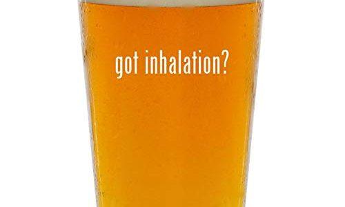 got inhalation? – Glass 16oz Beer Pint