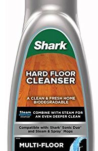 Shark Floor Cleanser for Multi-Use Hard Floor Cleaning, 20-Ounce Bottle for Use With Shark Steam Mops (RU820)