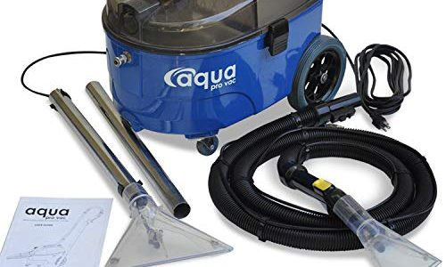Portable Carpet Cleaning Machine, Lightweight and Quiet Carpet Spotter and Extractor ideal for Auto Detailing, Hotels, Offices and Residential Homes – Aqua Pro Vac