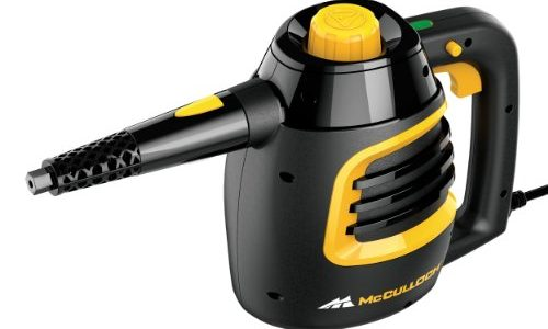 McCulloch MC1230 Handheld Steam Cleaner, Black
