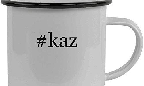 #kaz – Stainless Steel Hashtag 12oz Camping Mug